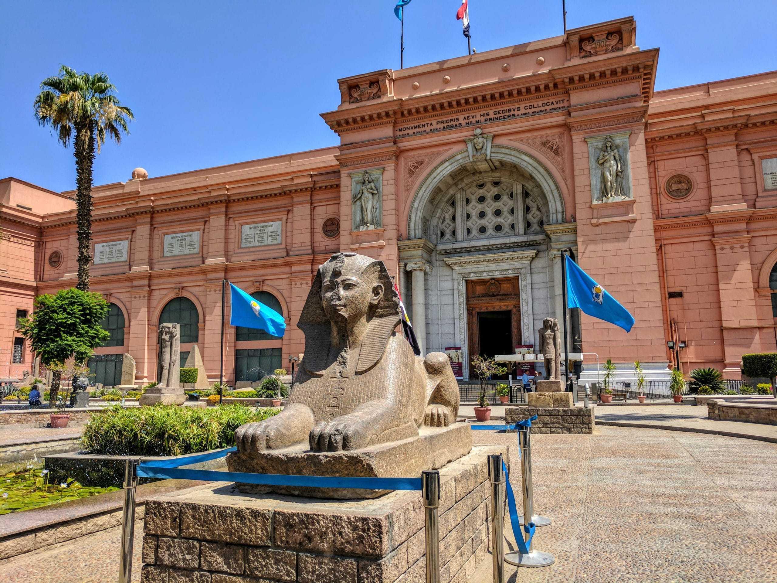 Museu do Cairo: independentemente de quando visitar o Egito, esta sempre será uma visita muito especial.