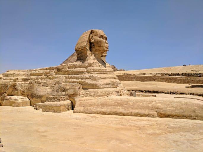 Pirâmides e Esfinge