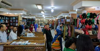 Dica de loja no Cairo especializada em produtos de algodão