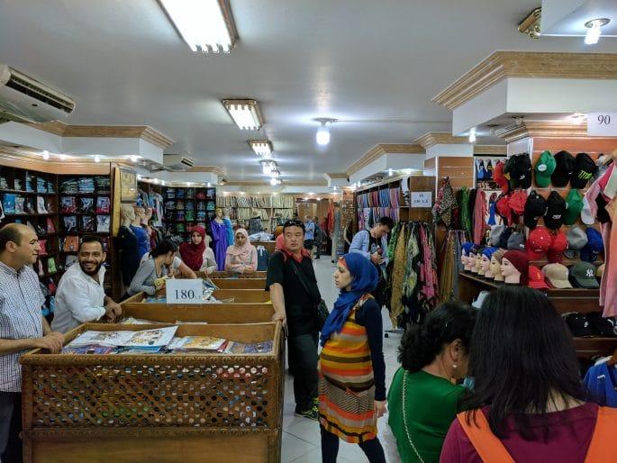 Guias de turismo no Egito