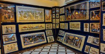Dica de loja de papiros no Cairo