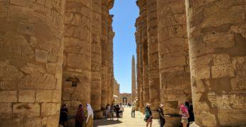 Turismo no Egito durante o inverno