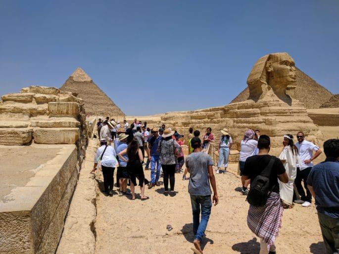 Egito no inverno | Gizé