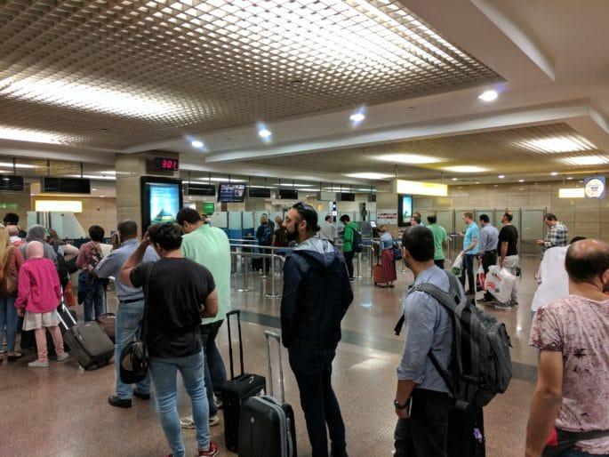 Aeroporto do Cairo | Imigração