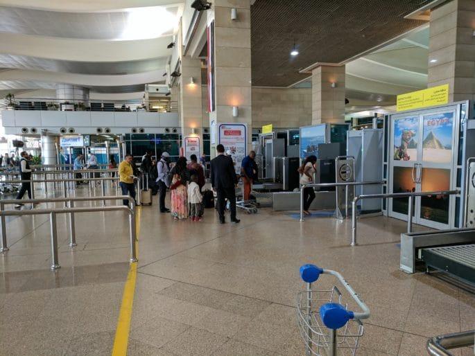 Aeroporto do Cairo | Área pré-embarque