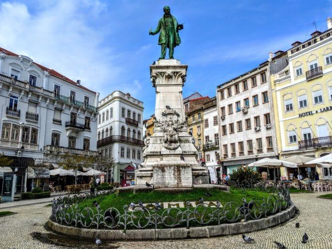 Estátua Joaquim Antônio de Aguiar - Coimbra