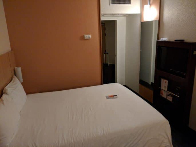 Quarto no Hotel Ibis em Coimbra