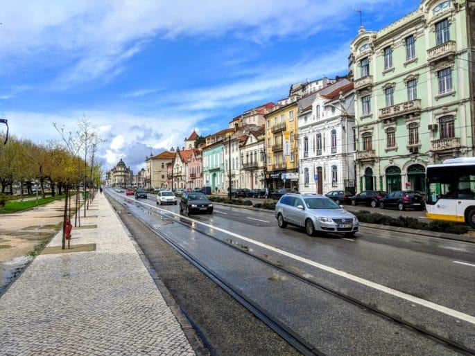 Avenida em Coimbra