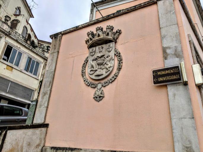 Caminho até a Universidade de Coimbra e a outros monumentos