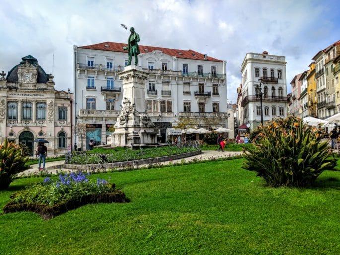 Largo da Portagem, em Coimbra