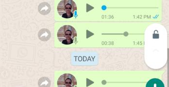 Gravar áudio no WhatsApp com os dedos livres: finalmente!
