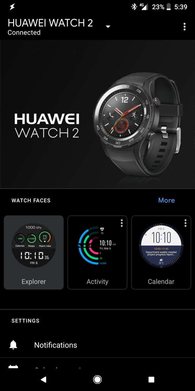 Tirar cópia de tela de um smartwatch Wear OS
