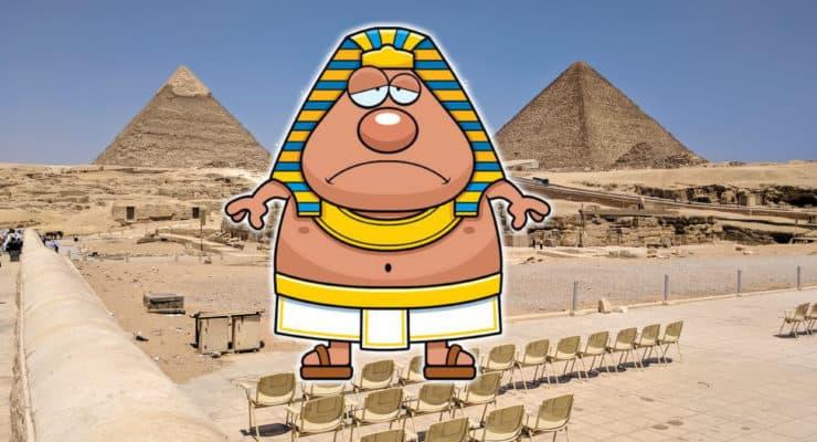 10 motivos para NÃO visitar o Egito