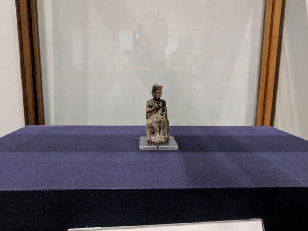 Mini statue of Khufu