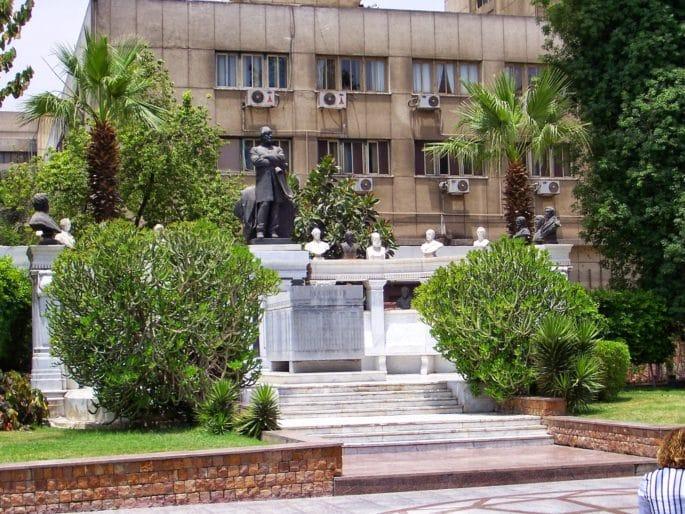Fachada principal do Museu do Cairo