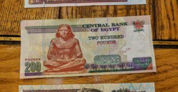 Dinheiro no Egito: a libra egípcia