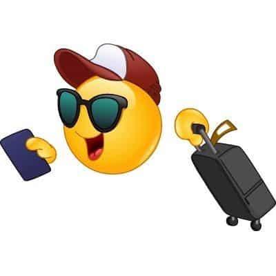 Emoji viajante