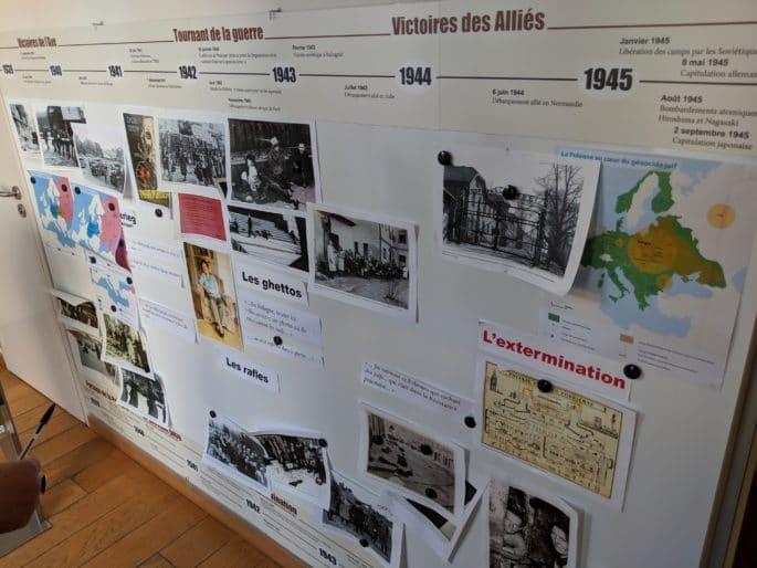 Interior da casa/museu onde nasceu Charles de Gaulle.