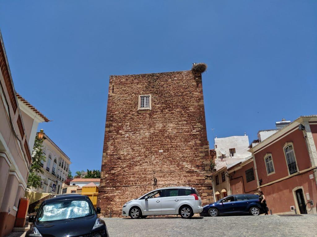 A estrutura das Portas da Cidade de Silves.
