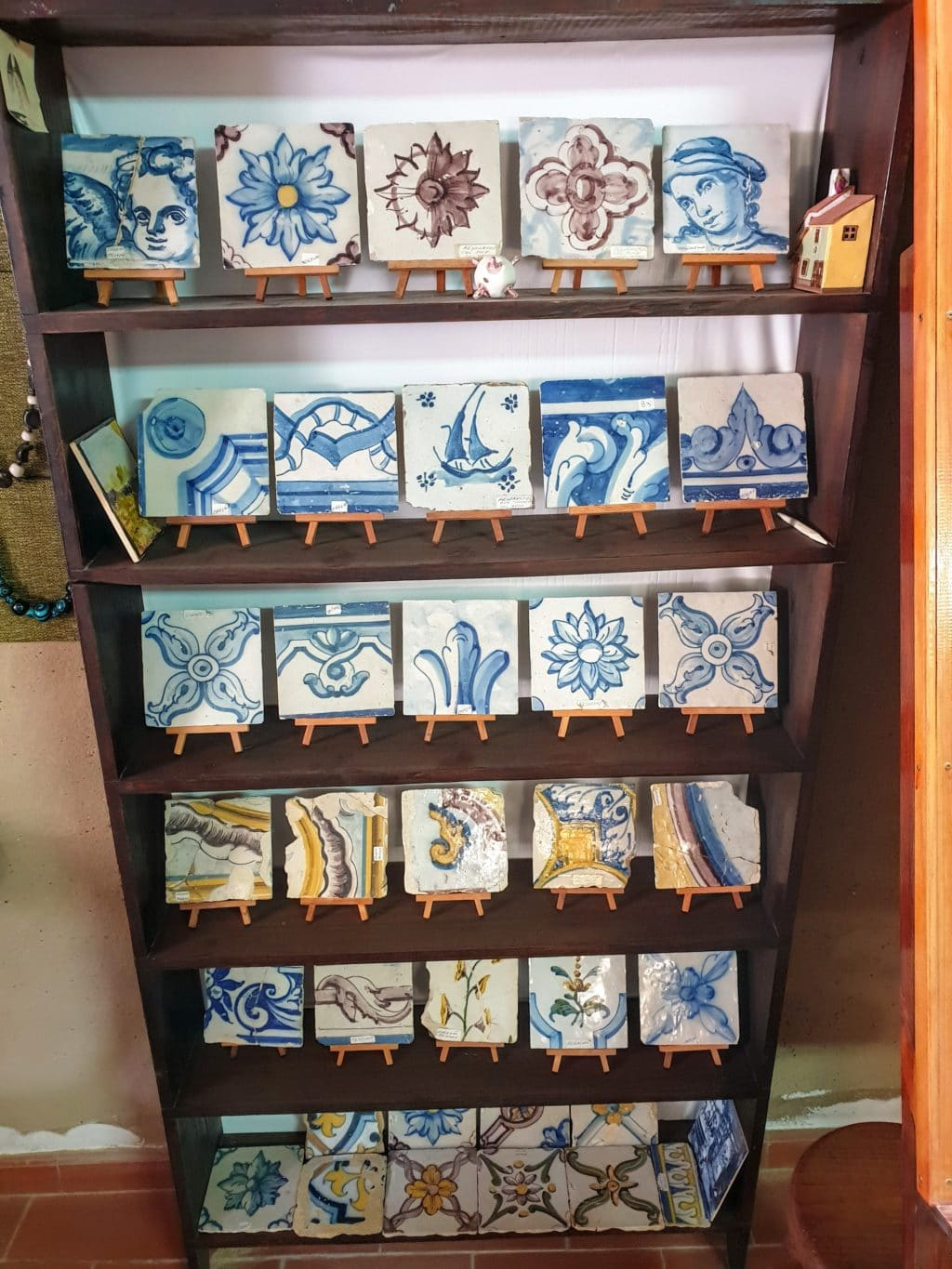 Historic tiles in Portugal