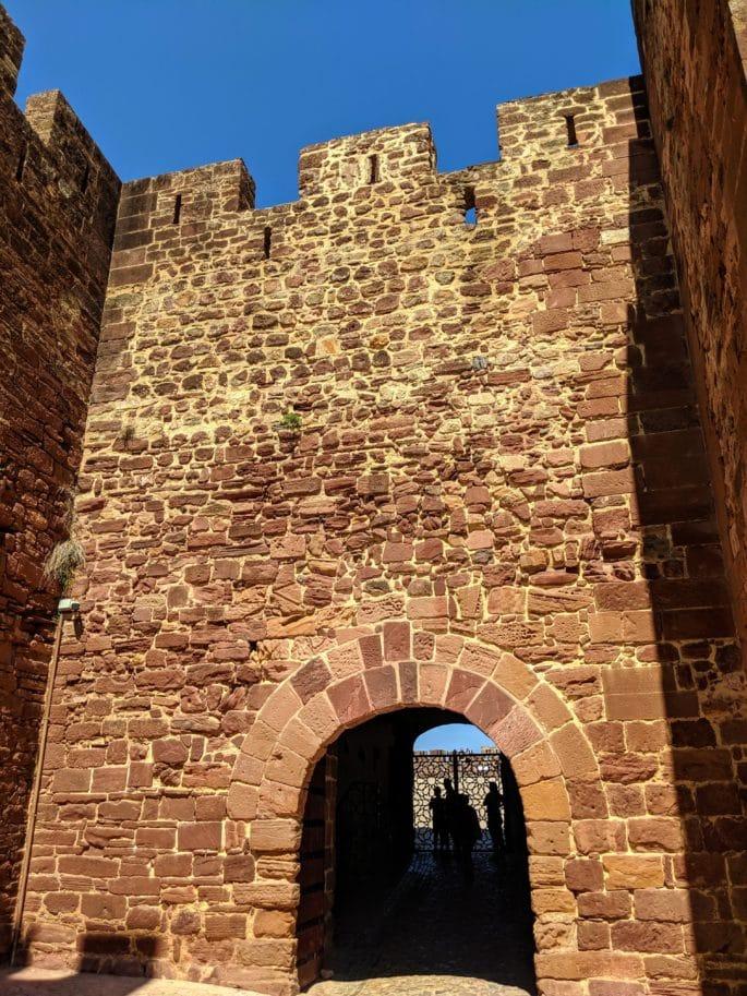 Entrada do Castelo de Silves.