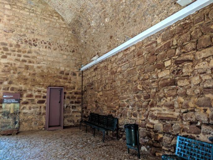Área no Castelo de Silves.