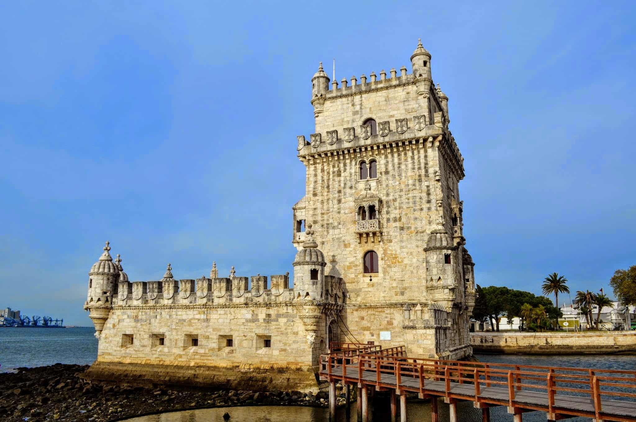 Externa da Torre de Belém.