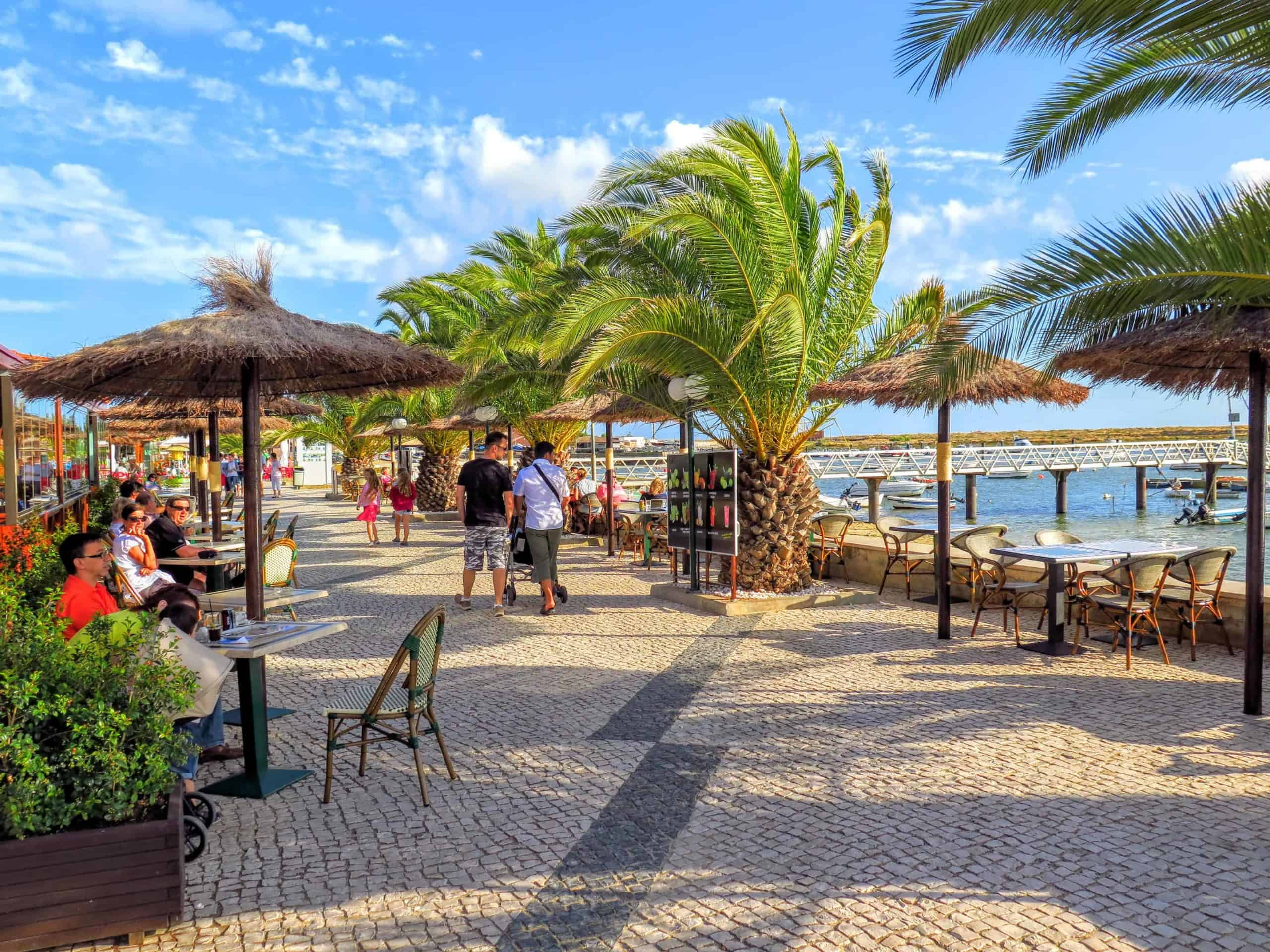 Ria in Alvor and the best time to visit the Algarve.