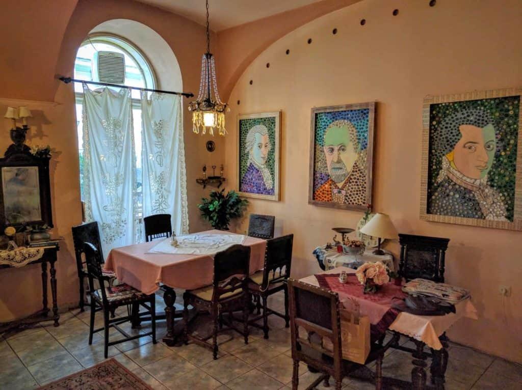 Inside Cafe Freud