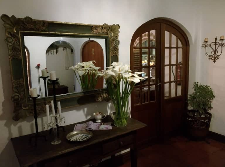 Entrance of the restaurant in Alvor: Pôr-do-Sol.