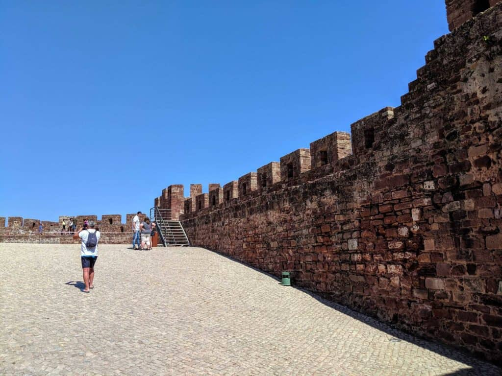 Inside the walls of Silves Castle
