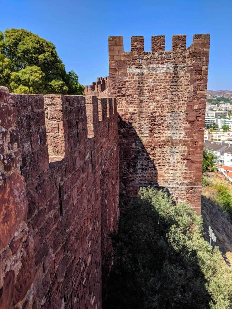 Walls of Silves Castle