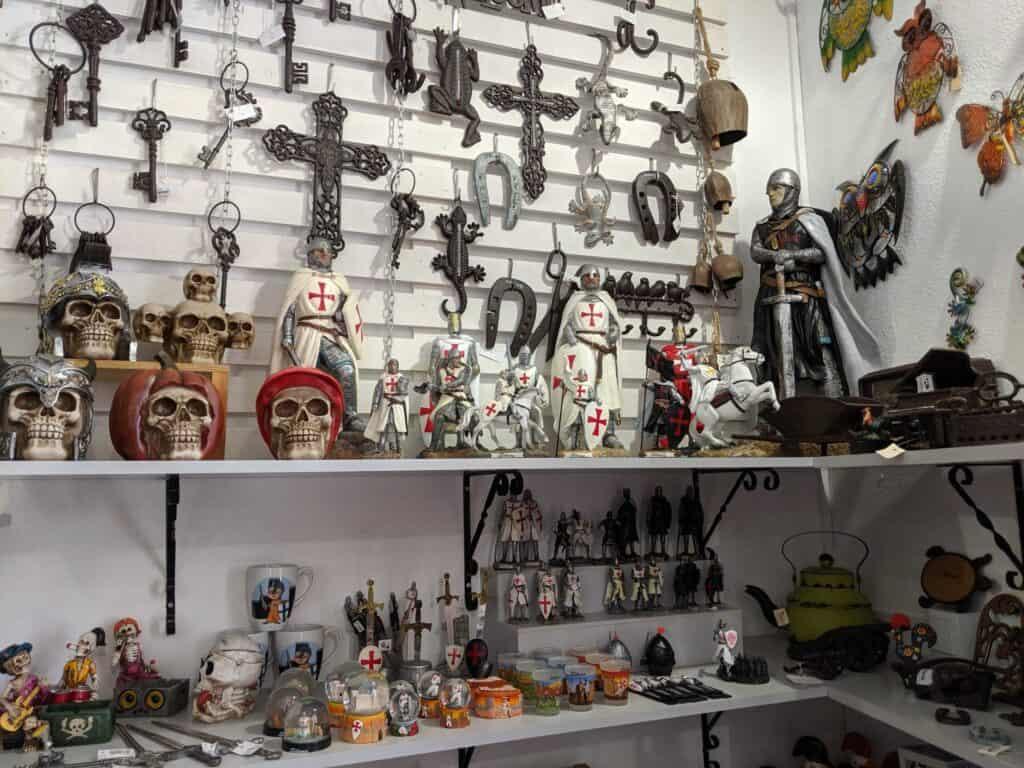 Inside Ana e Joana, in Silves