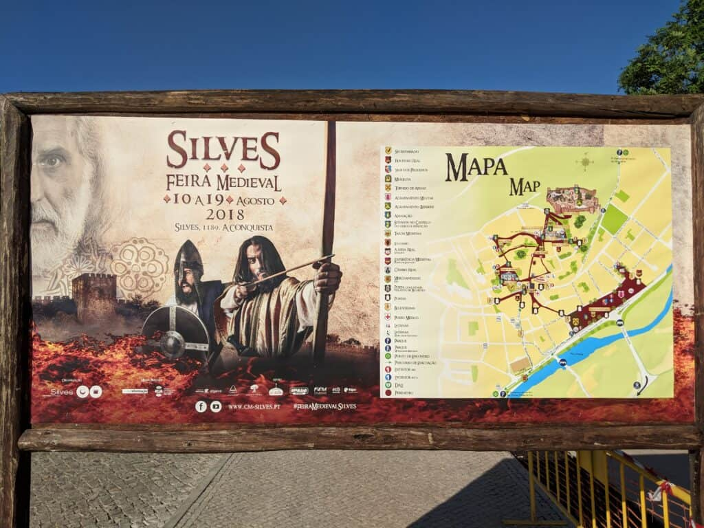 One other promotion of a medieval fair in Portugal.