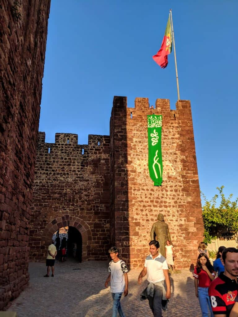 A castle used in a Medieval Fair in Portugal