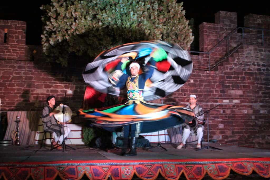 An Egyptian dancer
