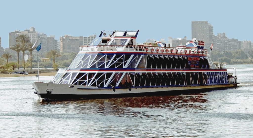 A dinner cruise on the Nile River